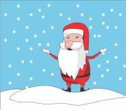 Santa clause chibi stock photography