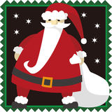 Santa Clause Christmas illustration Stock Photo