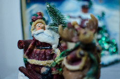 Santa Clause Christmas Ornament Stockfotos