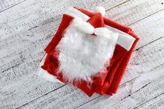 Santa Clause Costume Stock Photo
