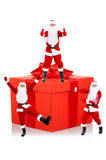 Santa clause creative design Stock Image