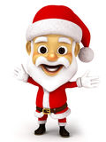 Santa clause with emotion Stock Image