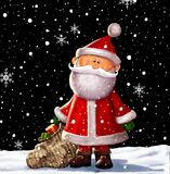 Santa Clause Illustration Fotos de Stock