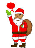 Santa clause stock illustration