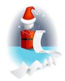 Santa clause. Illustration of stylized  Santa clause Stock Photography