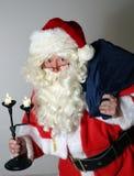 Santa Clause met Zak Stock Afbeeldingen