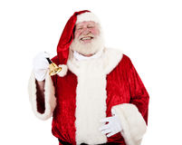 Santa Clause ringing bell Stock Image