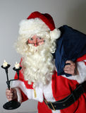 Santa Clause with Sack Stock Images
