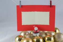 Santa clause wish list Royalty Free Stock Photo