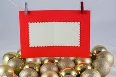 Santa clause wish list Stock Image