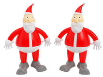 Santa clauses Stock Images