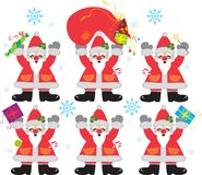 Santa Clauses Royalty Free Stock Images