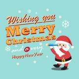 Santa Clauses for christmas Stock Photos