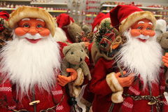 Santa Clauses Stock Photography
