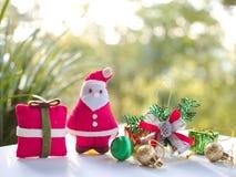 Santa clays Royalty Free Stock Photography