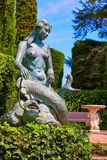 Santa Clotilde gardens Lloret de Mar Costa Brava Royalty Free Stock Images