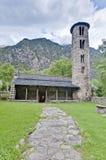 Santa Coloma church at Andorra Royalty Free Stock Images