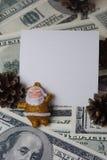 Santa com cones Imagens de Stock Royalty Free