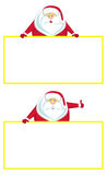 Santa com espaço da cópia Fotografia de Stock