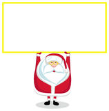 Santa com espaço da cópia Fotografia de Stock Royalty Free