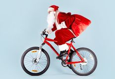 Santa com presentes Foto de Stock Royalty Free