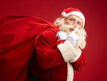 Santa coming Royalty Free Stock Images
