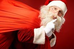 Santa coming Stock Photo