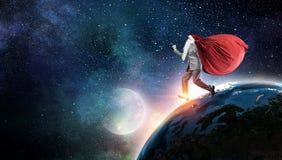 Santa is coming Royalty Free Stock Image