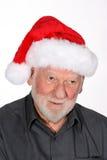 Santa con el sombrero Imagenes de archivo