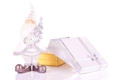 Santa con los presentes Imagen de archivo libre de regalías