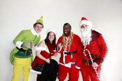 Santa Con in New York Royalty Free Stock Photos