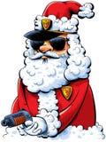 Santa Cop fraîche illustration libre de droits
