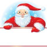 Santa with copy space Stock Photos