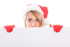 Santa copyspace Stock Images