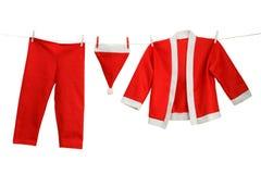 Santa costume Stock Photography