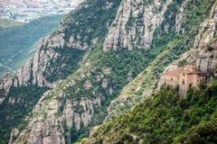 Santa Cova de Montserrat Imagen de archivo libre de regalías