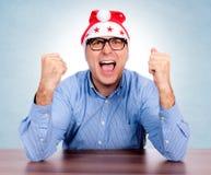 Santa is crazy Royalty Free Stock Photography