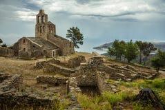 Santa Creu De Rodes, Hiszpania fotografia stock