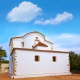 Santa Cristina Ermita hermitage in Lloret de Mar at Costa Brava. Of Catalonia Spain stock images