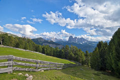 Santa Cristina Val Gardena Stock Photo