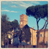 Santa Croce σε Gerusalemme Στοκ Εικόνες