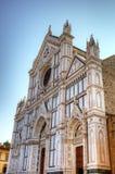 大教堂二Santa Croce 免版税库存照片