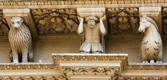 Free Santa Croce Baroque Church In Lecce Stock Photography - 52350022