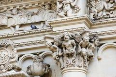 Santa Croce baroque church in Lecce Royalty Free Stock Photos