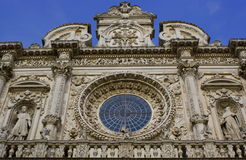 The Santa Croce Basilica Royalty Free Stock Photography