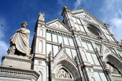 Santa Croce Basilica Arkivfoto