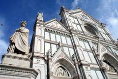 Santa Croce Basilica Stock Photo