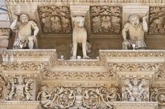 Santa Croce Basilica. Lecce. Puglia. Italy. Royalty Free Stock Image