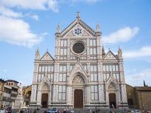 12 Santa Croce bazylika w historycznych centrum miasta o Florencja Santa Croce, FLORENCJA, WŁOCHY, WRZESIEŃ di Firenze -/- Fotografia Royalty Free