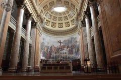 Santa Croce Cathedral en Forli, Italia Imagen de archivo